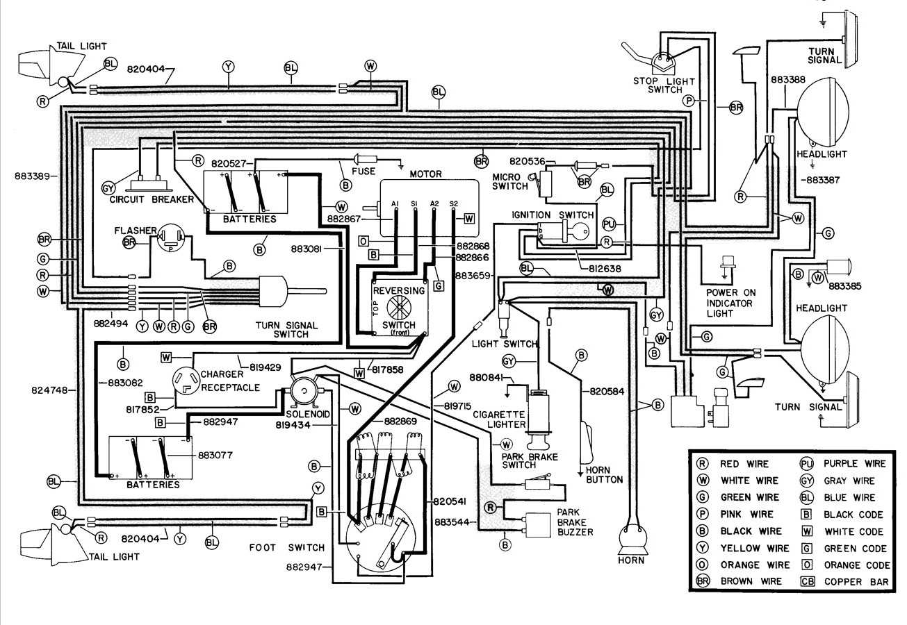 Wiring Diagram For Ezgo Rxv Seven Pin Plug Wiring Dodge Truck Bege Wiring Diagram