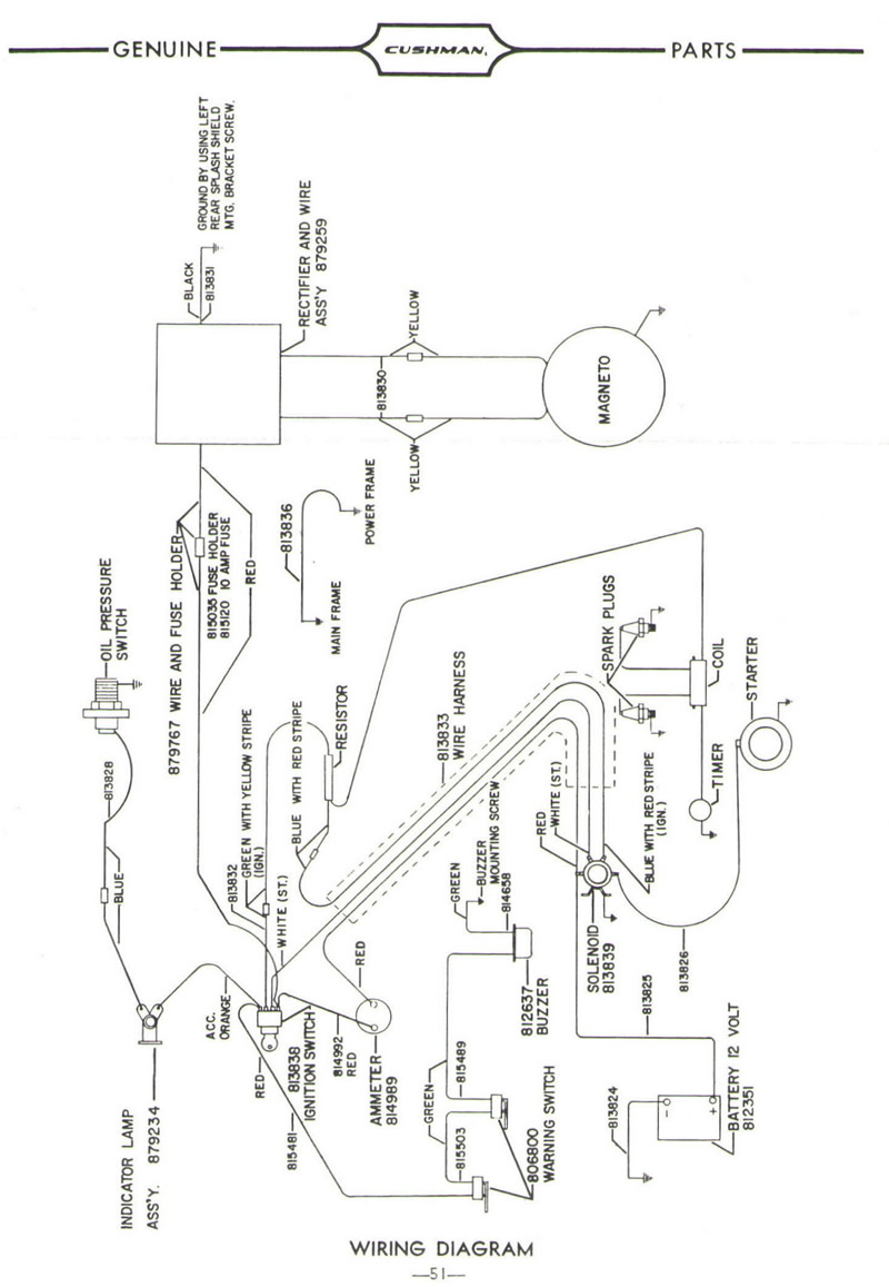 jacobsen golf cart wiring diagram
