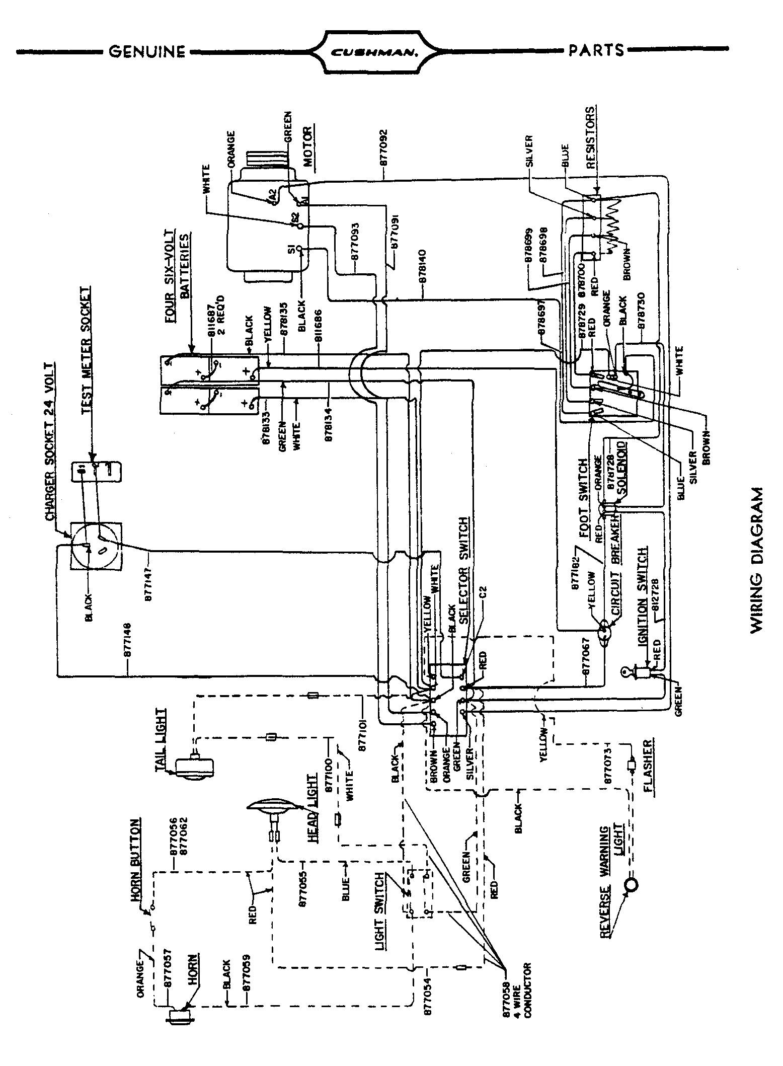 Charming Cushman 36 Volt Wiring Diagram Pictures Inspiration | 2118