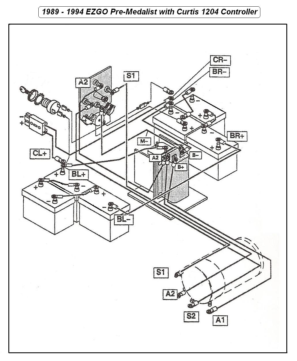 1982 Ezgo Electric Golf Cart Wiring Diagram Third Level Club Car 4 Battery Free Picture 3 Wheel Todays Ez