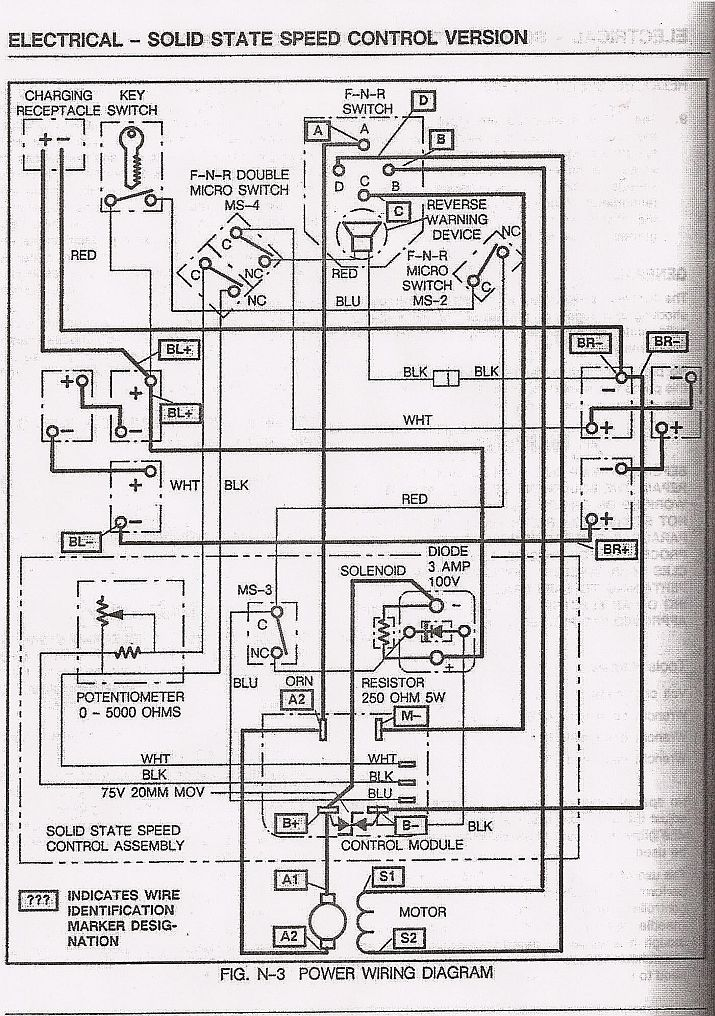 Ez Go Wiring Diagram 36 Volt
