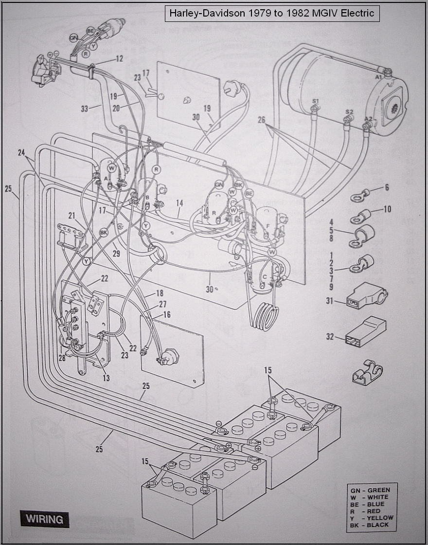Western Golf Cart Accessories Wiring Diagram : Western golf cart volt wiring diagram columbia
