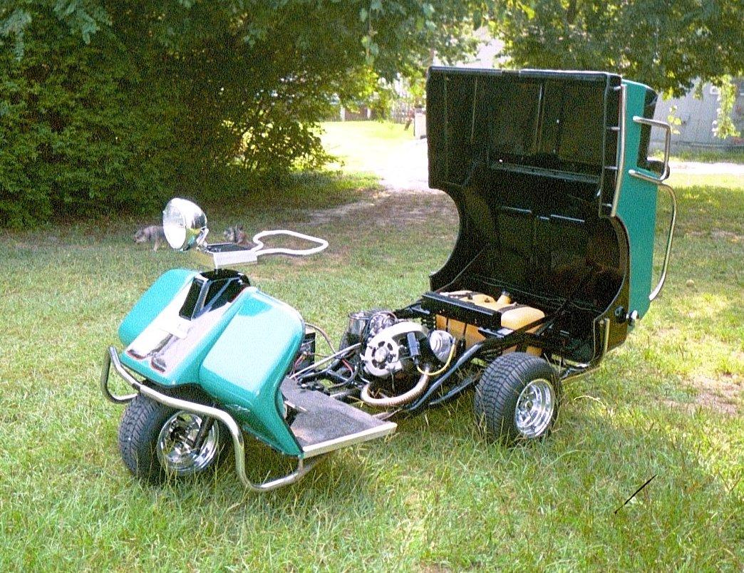 Free harley Davidson Golf Cart repair manual on