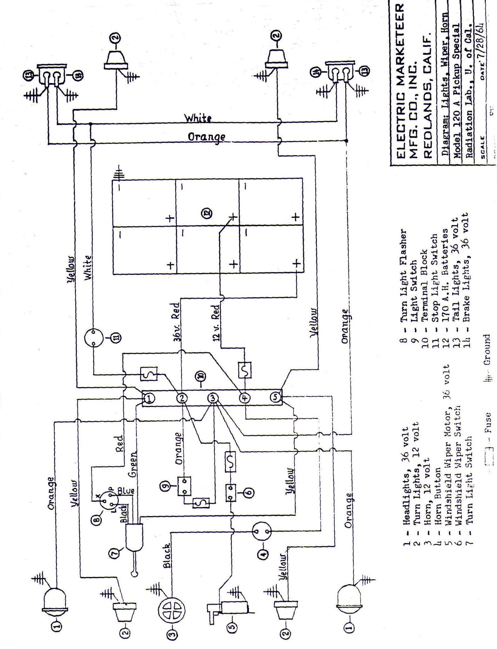 Taylor Dunn Golf Cart Wiring Diagram Simple Guide About Battery Vintagegolfcartparts Com Tee Bird