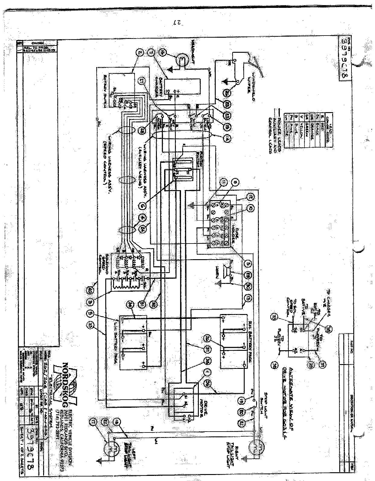 Melex 212 Wiring Diagram - Wiring Diagrams Folder on