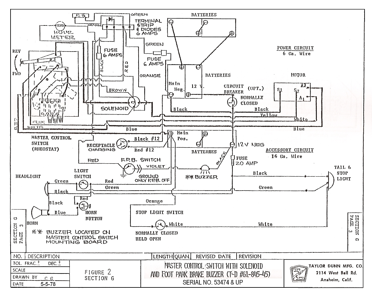 Taylor Wiring Diagram Everything About Rheostat Switch Dunn 26 Images C723 Wimpey