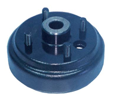 BK22-210 - Brake Drum, Short Studs