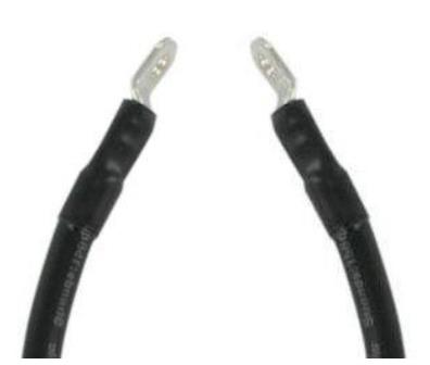 EL99-460 - Battery Cable, Black 12''