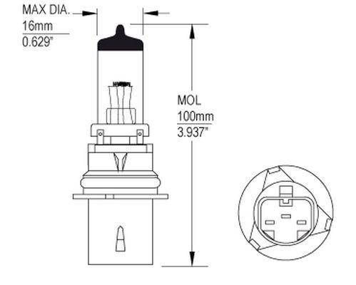 H11b Bulb Specs