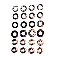 MT11-200 - Nut & Washer Kit, Motor Terminal Stud