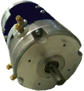 MT22-010 - Auxiliary Shaft, 10 Spline, High Speed Motor