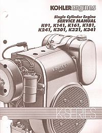 PU30-100 - Kohler Engine Service Manual