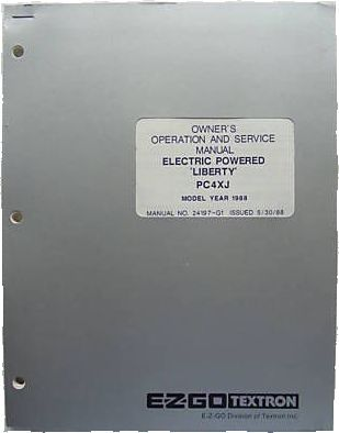 PU22-100 - Service Manual, Electric, '88, PC4XJ