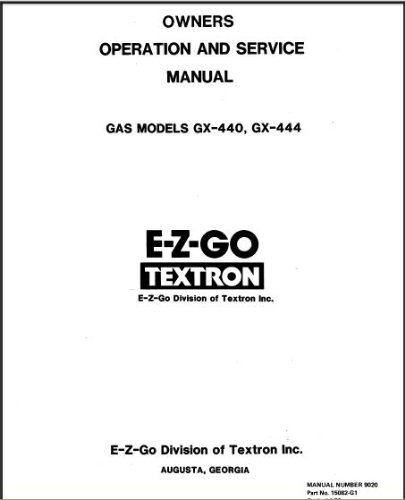 PU22-510 - Service Manual, Gas, '76-'79