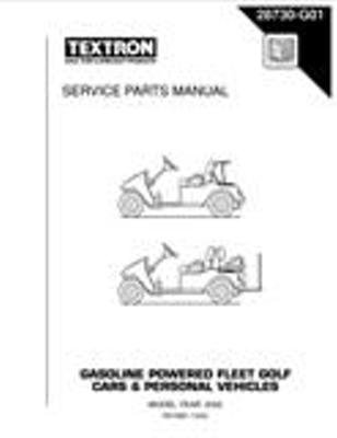 PU22-860 - Parts Manual, Gas, 2002