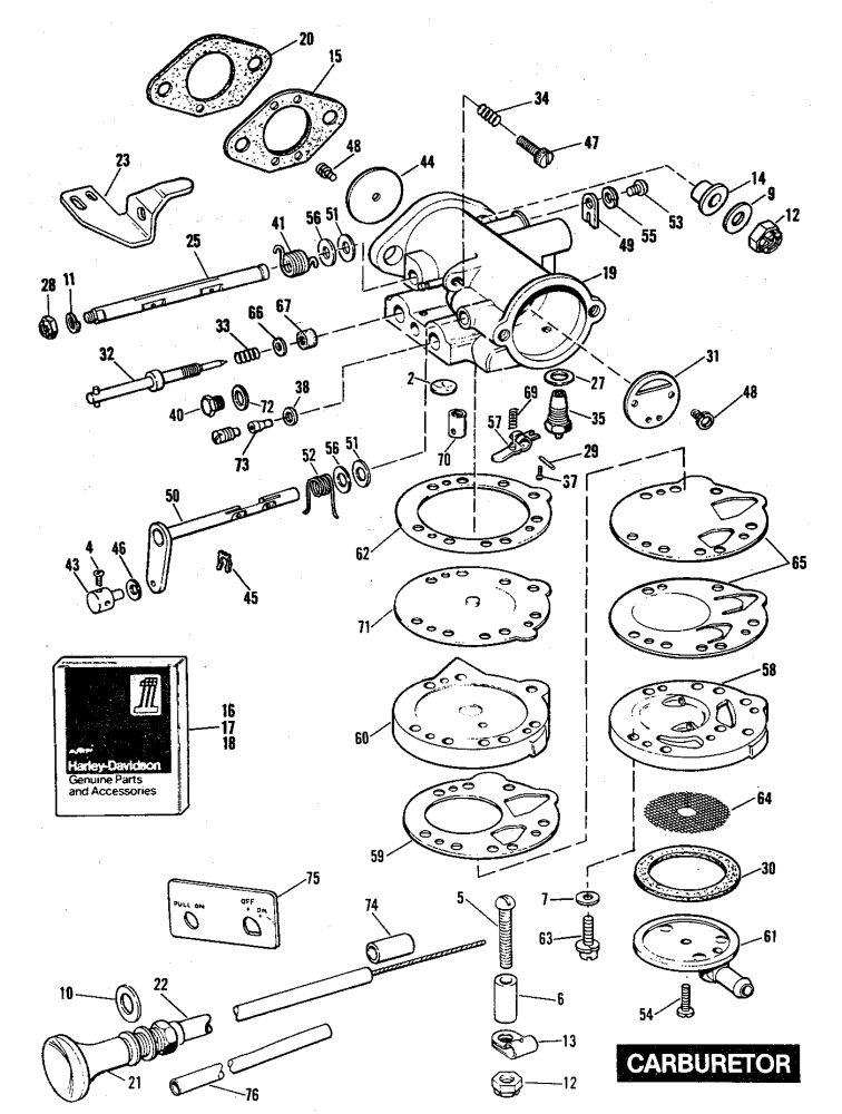 FU11-660 - Carb Wire Block - Vintage Golf Cart Parts Inc.
