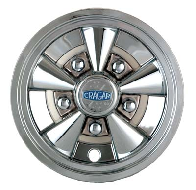 WH11-150 - Crager SS 8'' Wheel Cover, NLA