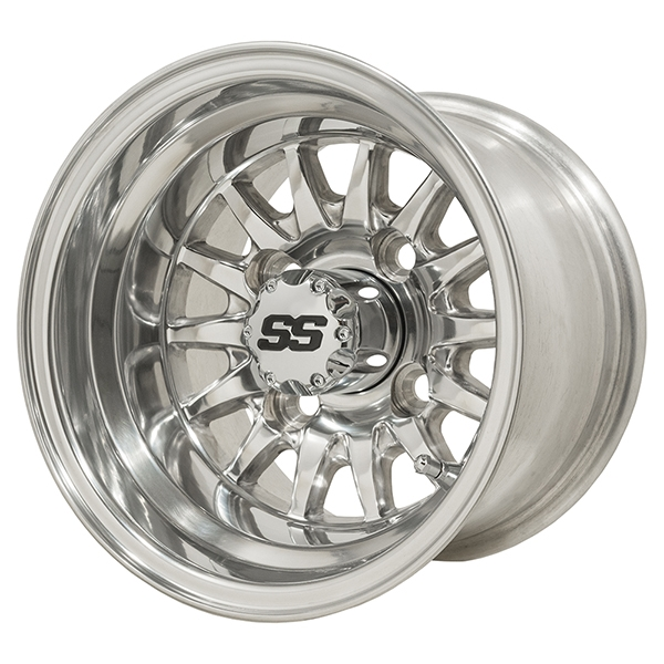 WM11-132 - Medusa Polished Aluminum Wheel