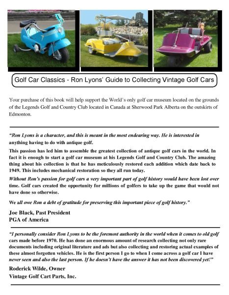 PU10-100 - Golf Car Classics