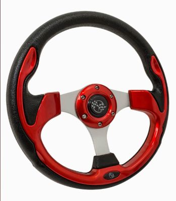 AC11-060 - Custom Steering Wheel, Rally Style