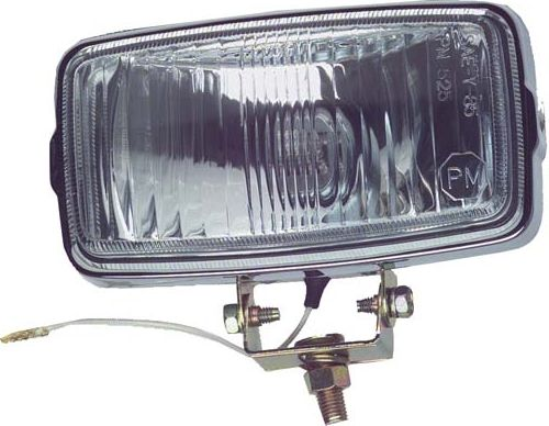 LT11-400 - Chrome Rectangular Headlight