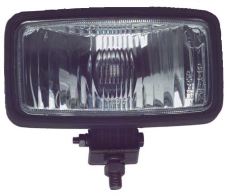 LT11-410 - Black Rectangular Headlight