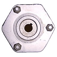 AX11-010 - Rear Wheel Hub, 3 Bolt