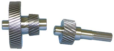 AX44-190 - High Speed Gears, 8:1, Graziano 3 pice gears
