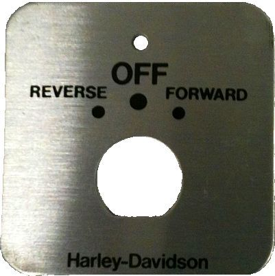 BD11-082 - F & R Ignition Plate