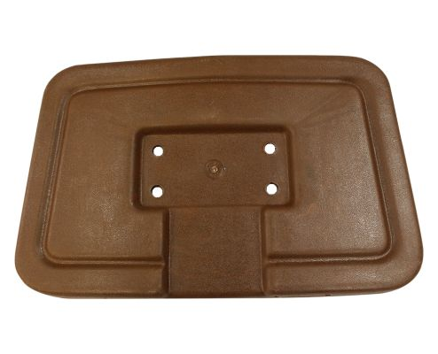 BD44-010 - Seat Back Cap, Brown, NLA