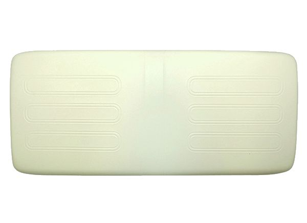 BD44-041 - Seat Bottom Cushion, White
