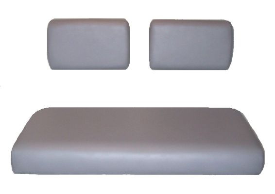BD66-100 - White Bench Seat, Split Back