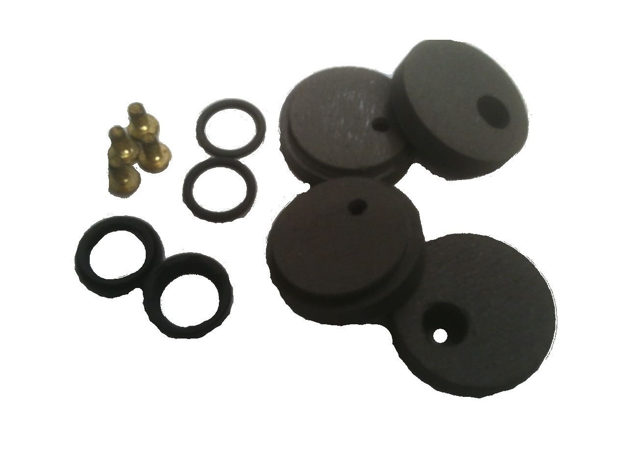 BK55-261 - Front Brake Caliper Repair Kit, Round Pads