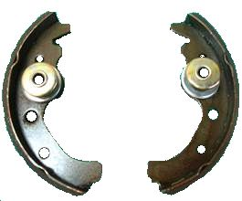 BK66-040 - Brake Shoe Set of Two, Hydraulic Brakes