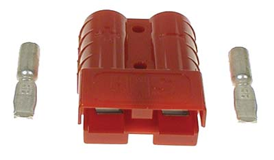 BT22-083 - Charger Plug Receptacle, Red