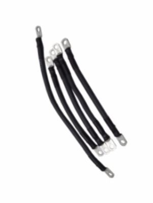 EL22-730 - 4 Ga Battery Cable Set, Black