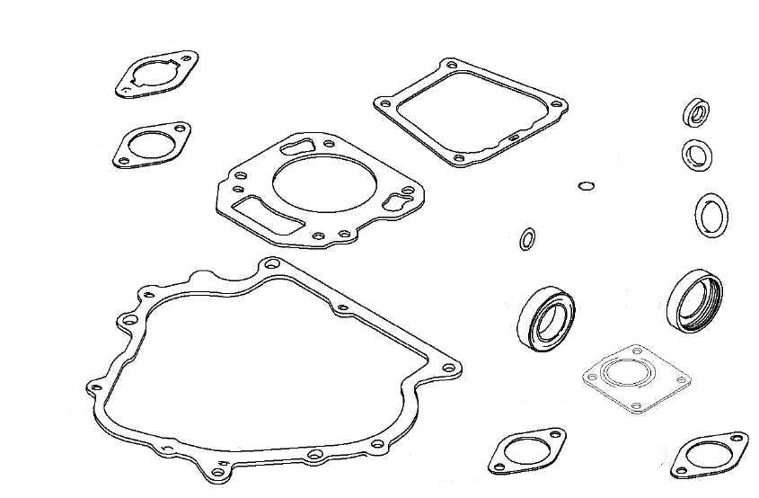 EN66-260 - Engine Overhaul Gasket Set