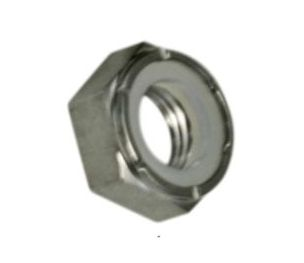 "HW43-120 - 1/4""-28 Thin Nylock Nut"