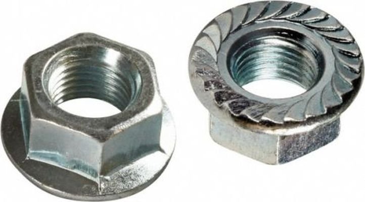 "HW40-327 - 3/8""-16 Flanged Whiz Lock Nut"