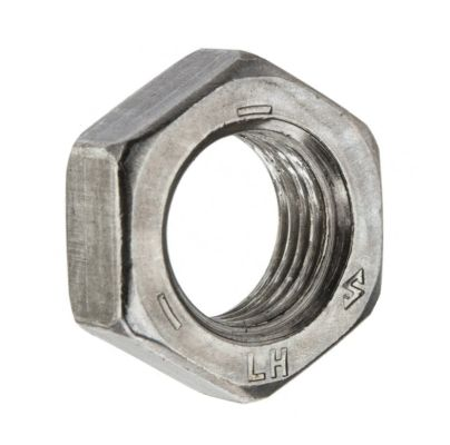 "HW45-359 - 3/8""-24 Jam Nut, Left Thread"