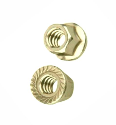 HW53-124 - 6mm-1.00 Flanged Whizlock Nut