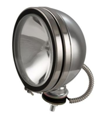 LT11-430 - Round Chrome Headlight