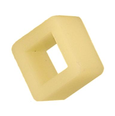 "MT11-162 - Square Insulating Bushing, .345"" thick"