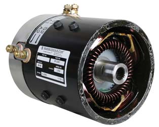 MT22-109 - 19 Spine Stock Replacement Motor