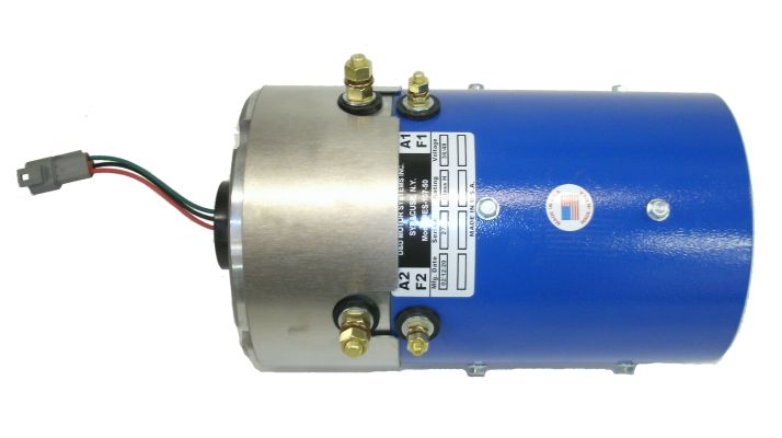 MT22-146 - 8 Brush SepEx Motor, 19 Spline