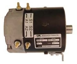 MT44-080 - 10 Spline, High Speed 48 Volt Motor