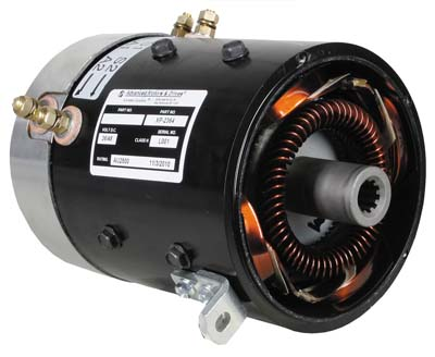 MT44-100 - 10 Spline, High Torque Motor