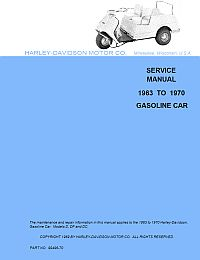 PU11-052 - Gas Service Manual, '63-'70