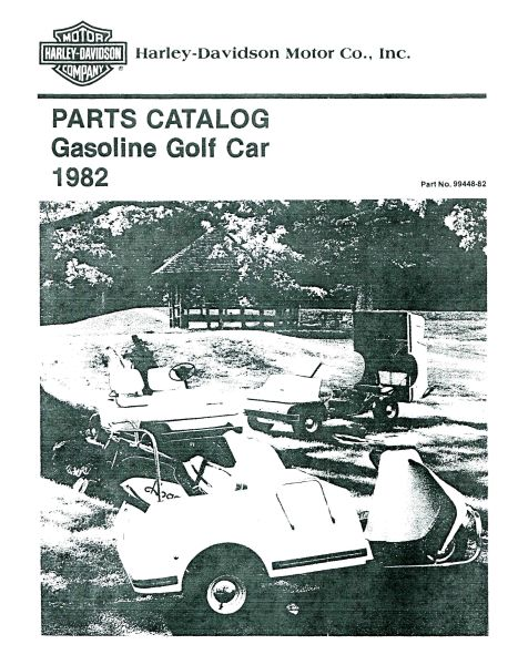 PU11-130 - Gas Parts Manual, '82