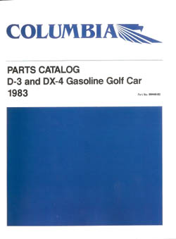 PU11-140 - Gas Parts Manual, '83